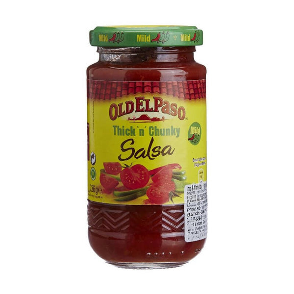 Oldelpaso Mild Salsa Thick'N Chunky 375 Gm