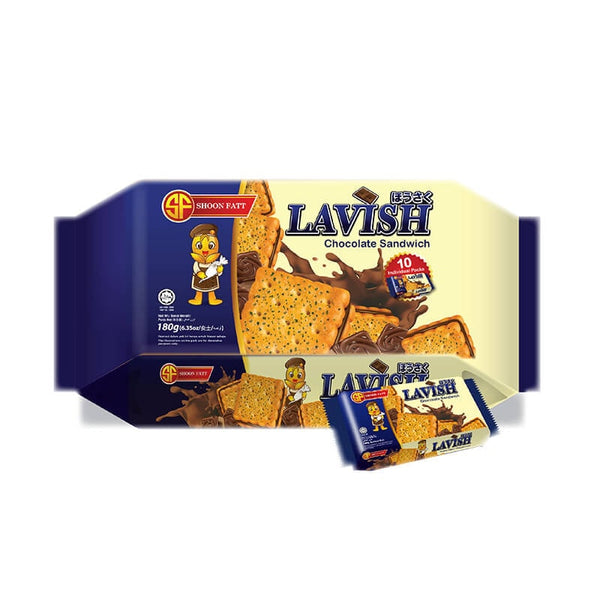 Shoon Fatt Lavish Chocolate Sandwich Biscuits