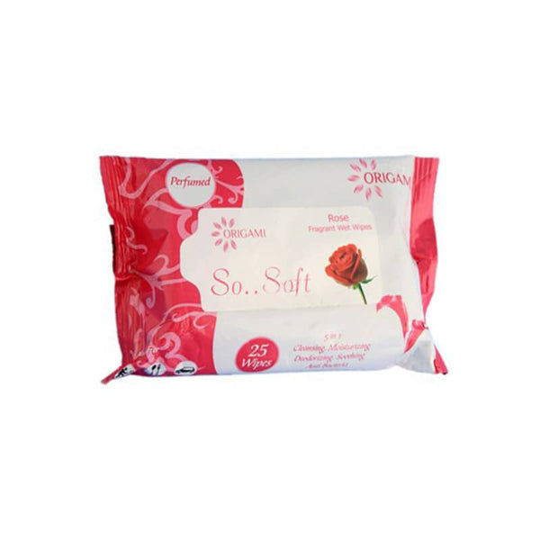 Origami Rose Fragrant Wet Wipes