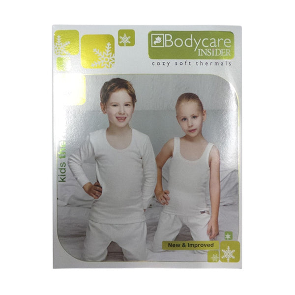 Bodycare Insider Cozy Soft Kids Upper Thermals  Charcoal