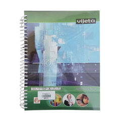 Vijeta Spiral Note Book 200 Pages