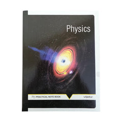 Vijeta Physics Practical Note Book - One Side Ruling 20.5 Cm X 29.5 Cm