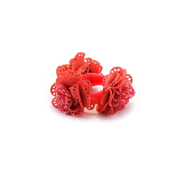 Mayo Baby Flower Hair Rubber Band 1 Pc