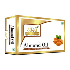 Sri Sri Almond Oil In Veg Capsules (500Mg) [3x10]