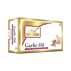 Sri Sri Garlic Oil In Veg Capsules (500Mg) [3x10]