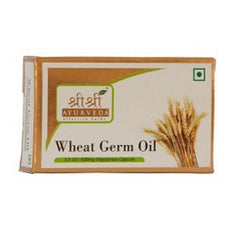Sri Sri Wheat Germ Oil In Veg Capsules (500Mg) [3x10]