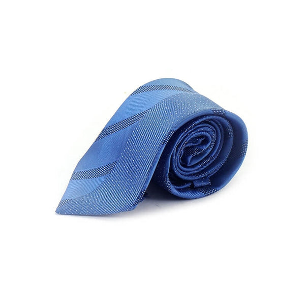 Mayo Design Tie shining blue