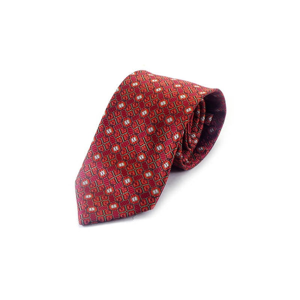 Mayo Design Tie different red