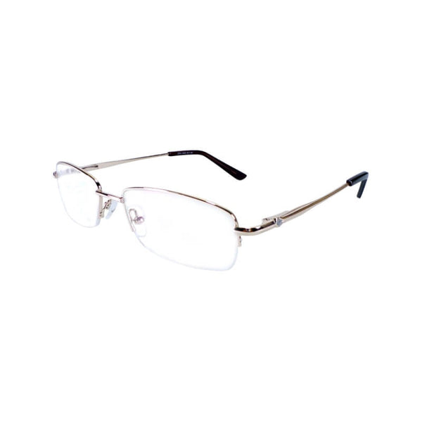 Weaond Golden Half Frame Eyewear For Men