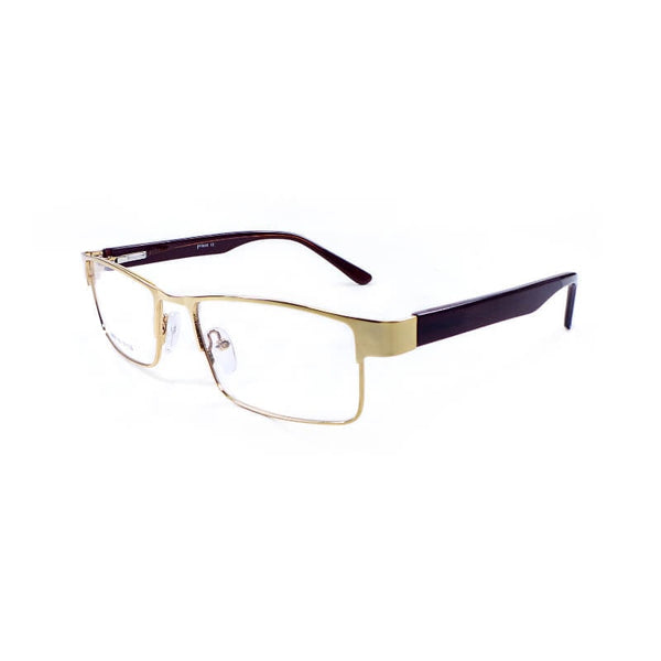 Prince Golden Full Frame Eyewear For Men