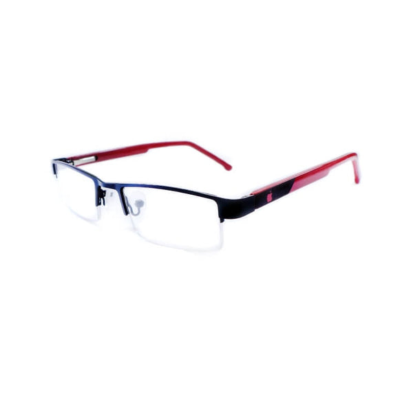 Intime Mehroon Half Frame Eyewear For Men