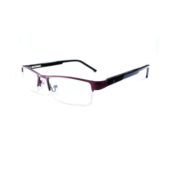 Intime Black & Brown Half Frame Eyewear For Men