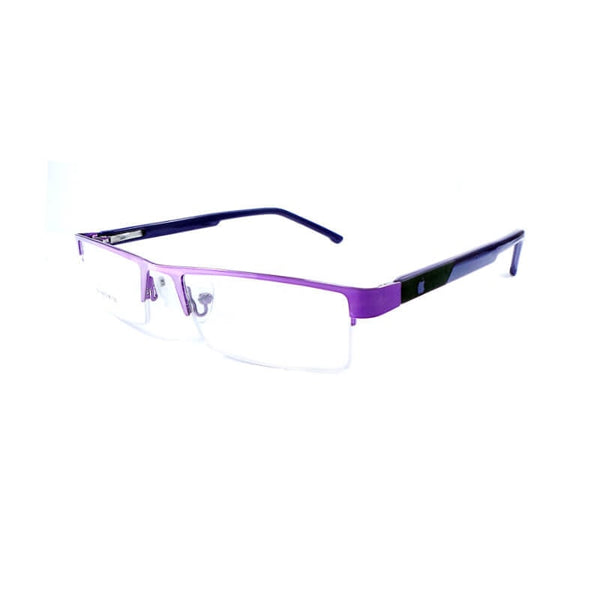 Intime Purple Half Frame Eyewear For Men