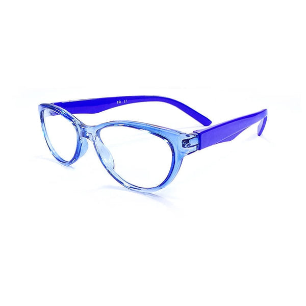 Desire Blue Oval Frame Eyewear For Women