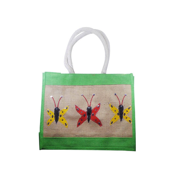 Mayo Carry Bags With Butterfly Printed