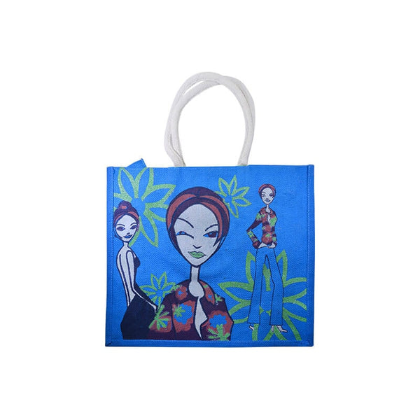 Mayo Carry Bags With Girls Printed For Dark Green