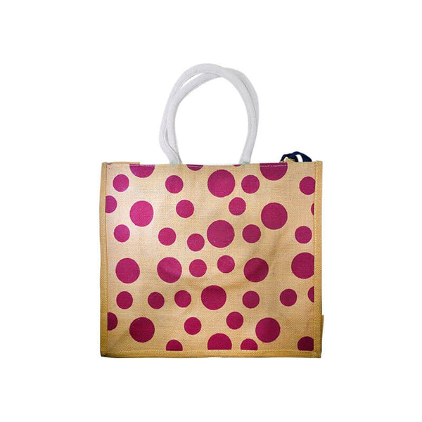 Mayo Red Dot Polka Bags For Yellow
