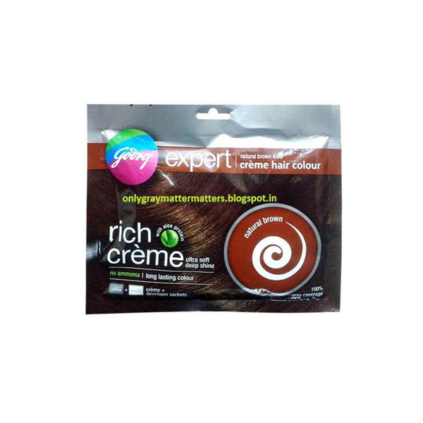 Godrej Expert Advanced Hair Colour Powder Natural Brown
