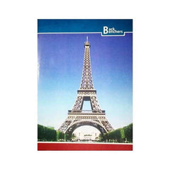 Back Benchers Exercise Notebook Size 24 Cm X 18 Cm Square-0.5'