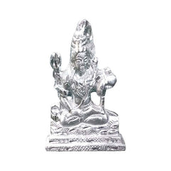 Lord Shiv Silver Statue idol (Weight : 84g)