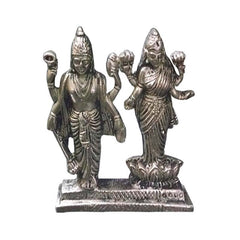 Frestol Vishnu Lakshmi Idol Brass (Weight : 230g)