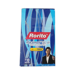 Rorito Racemax Gel II water proof Pen - pack of 20 with free racemax gell II pen-1nos