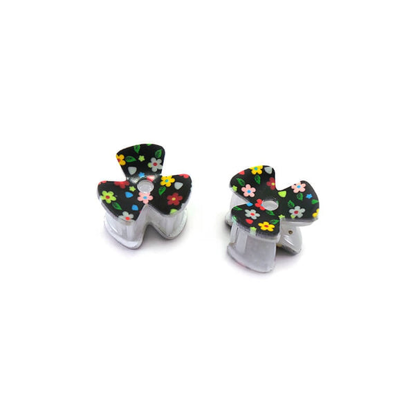 Mayo Flower Hair Clutcher Pack of 2 Pcs