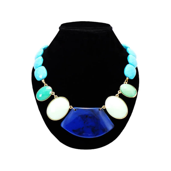 Mayo Khas Stone Necklace