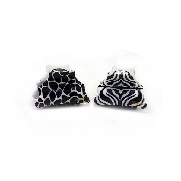 Mayo Black & White Designer Clutcher 2 Pcs
