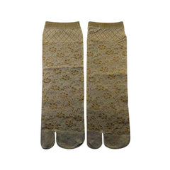 Mayo Safina Ankle Length Women Self Skin Flower Thumb Socks