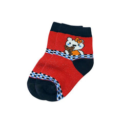 Mayo Safina Kids 1 To 4 Years Ankle Socks Red Colour