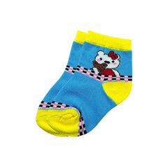 Mayo Safina Kids 1 To 4 Years Ankle Socks Sky Colour