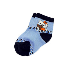Mayo Safina Kids 1 To 4 Years Ankle Socks Light Blue Colour