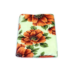 Mayo Soft Kids Towels Flower Print Brown