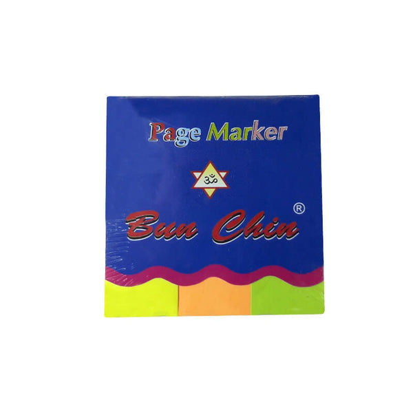 Bun Chin Marker Page ( Paper) 25*75 Mm Pm 133