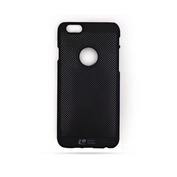 Loopee Mobile Shell Stefan Series Black Cover For Apple I Phone 6/6S