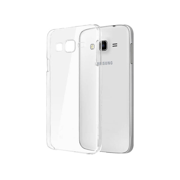 Samsung   J2 Transparent Mobile Back Cover