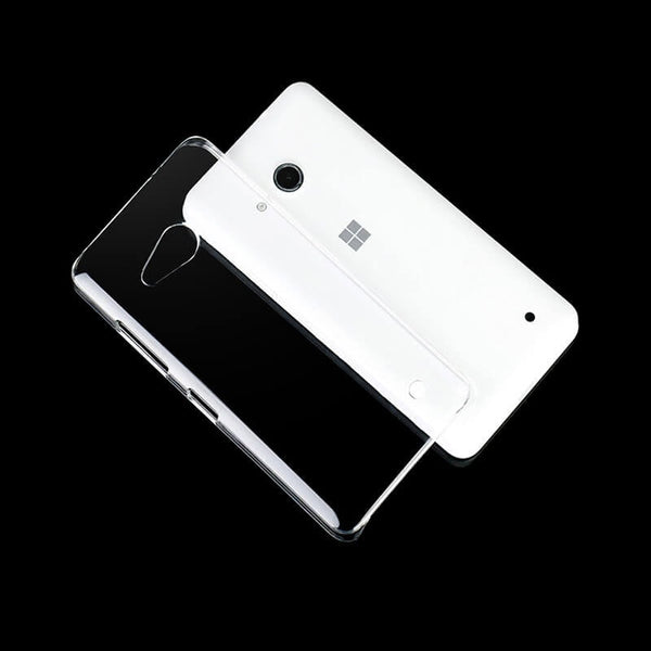 Microsoft Lumia N550 Transparent Mobile Back Cover