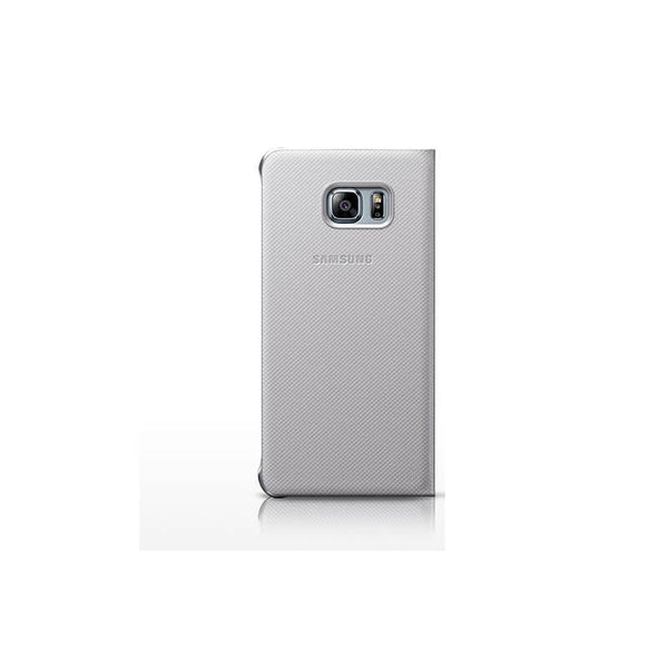 Samsung Galaxy S6 Edge Mobile Back Case Silver