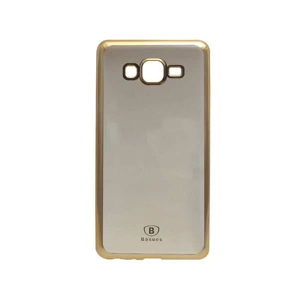 Samsung Galaxy On7 Mobile Back Case Golden