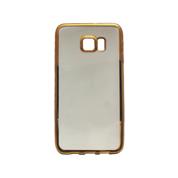 Samsung Galaxy S6 Edge Plus Mobile Back Case Golden