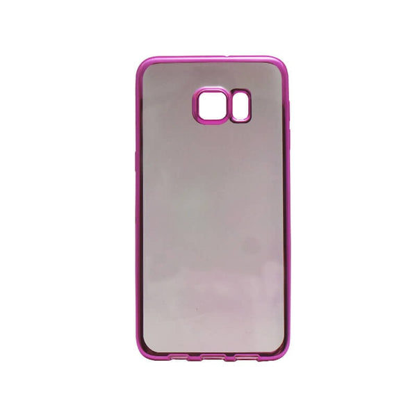 Samsung Galaxy S6 Edge Plus Mobile Back Case Dark Pink