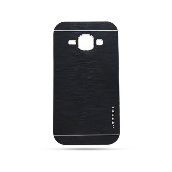 Samsung Galaxy J1 Mobile Metal Back Case Black