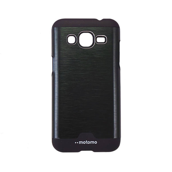 Samsung Galaxy J2 Mobile Metal Back Case Black