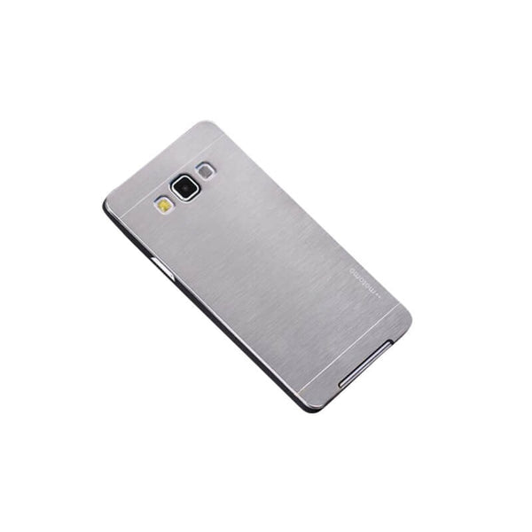 Samsung Galaxy J2 Mobile Metal Back Case Silver 1 Pc