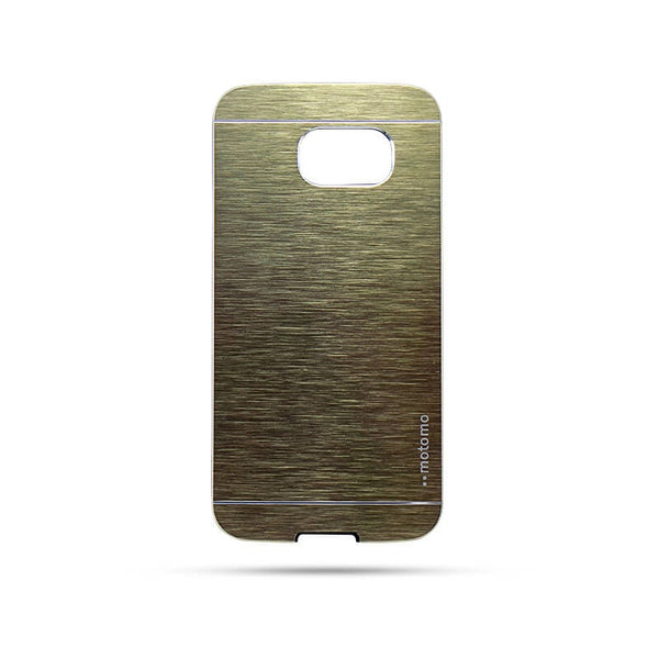 Samsung Galaxy S6 Mobile Metal Back Case Golden