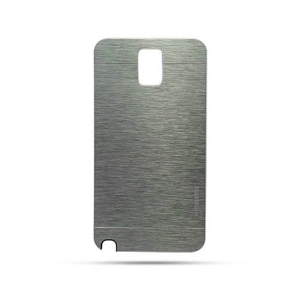 Samsung Galaxy Note 3 Neo N  7505 Mobile Metal Back Case Silver