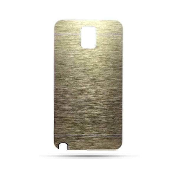 Samsung Galaxy Note 3 Neo N  7505 Mobile Metal Back Case Golden