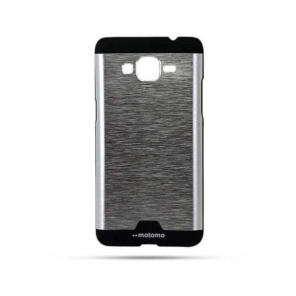 Samsung Galaxy Grand Prime G530 Mobile Metal Back Case Silver