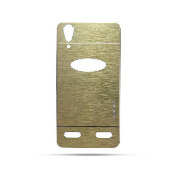 Lenovo K3 Note A6000 Mobile Metal Back Case Golden